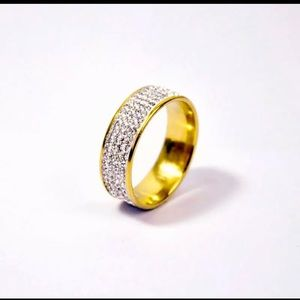 stainless steel woman ring
